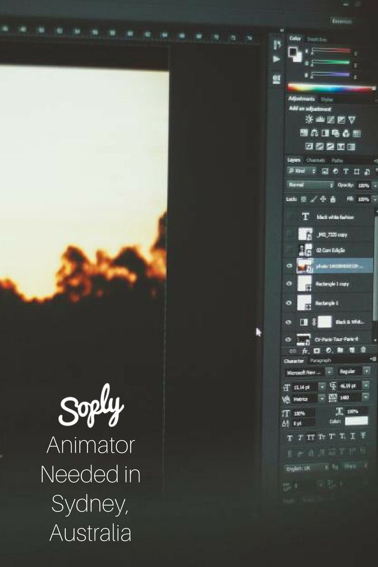 #Animator needed for a #video #project in #Sydney, #Australia. Speak to the #client and arrange a meeting through the pin!