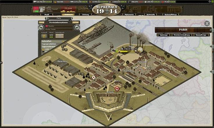 Supremacy 1914 – Guerre Mondiale jeux de stratégie en ligne - http://fr.bigpoint.com/supremacy1914/