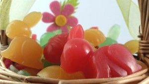 Rabbit & Easter egg soaps