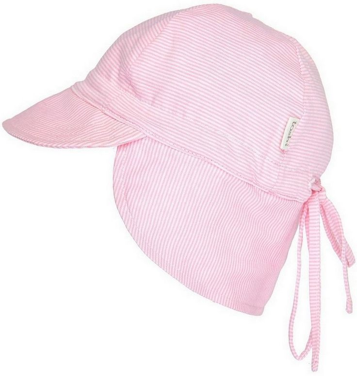 Toshi - Baby Flap Cap Hat In Blush