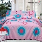 Bed Quilt Cover Set Queen Size Design: Harpi Obsession Night
