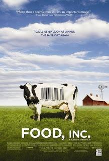 Food, Inc. (Τρόφιμα Α.Ε. - 2008) . Το ντοκιμαντέρ «Τροφή, Α.Ε.» (Food, Inc. – 2008) από τον βραβευμένο με Emmy σκηνοθέτη Ρόμπερτ Κένερ, αποτελεί μια καταγραφή της νομικής και οικονομικής ισχύος που έχουν στην οικονομία της Αμερικής οι μεγαλύτερες εταιρείες τροφίμων, καθώς και μια μαρτυρία για την επιβλαβή επίδρασή τους στην υγεία όσων εργάζονται στο στάδιο παραγωγής κι όσων τρέφονται από τα προϊόντα τους.