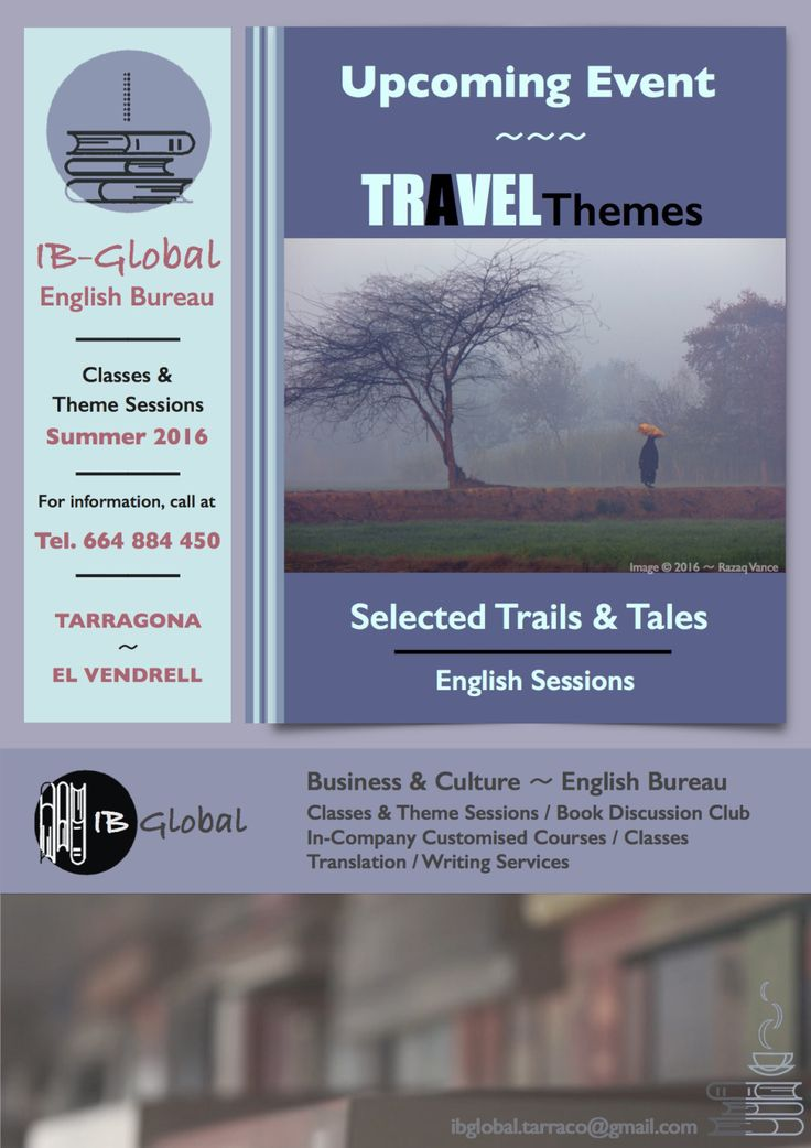 Travel - English Sessions