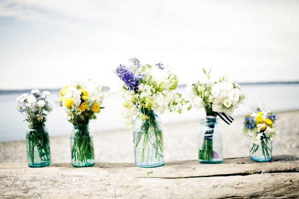 Vintage Beach Wedding Dessert Table | Love Wed Bliss