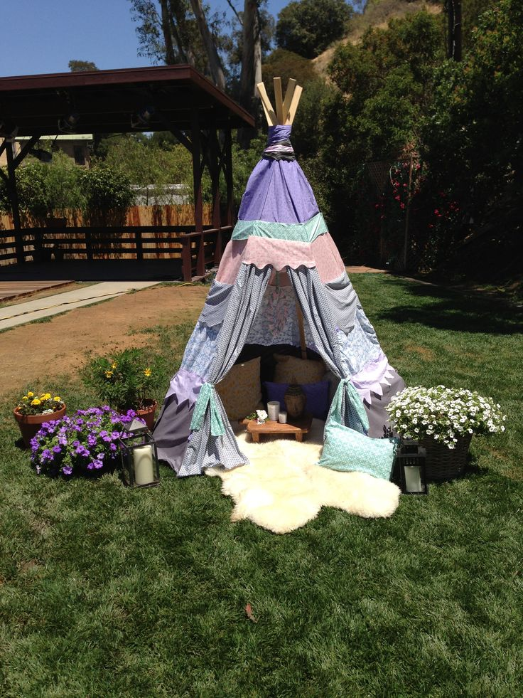 creative home craft idea make your own tipi so fun to do this w - Home And Garden Channel