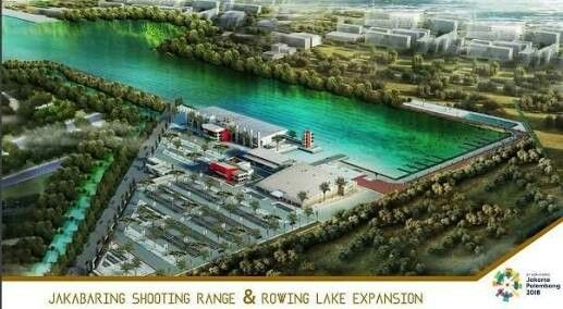 Jakabaring Rowing Lake Expansion