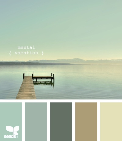 Colour Scheme - Mental Vacation