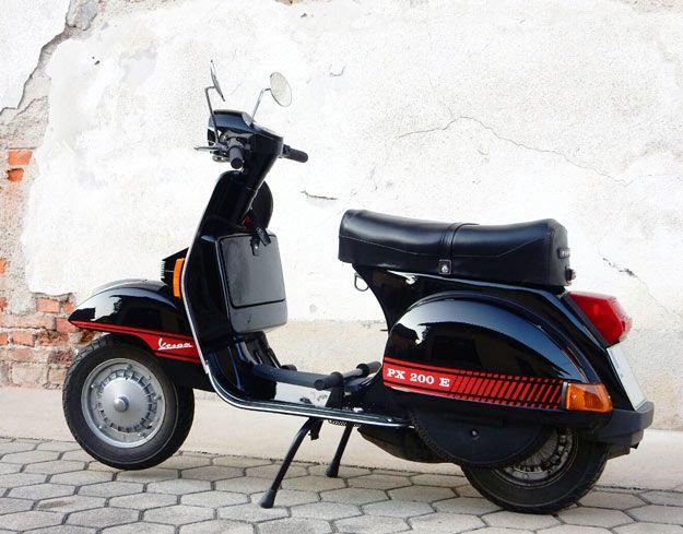 Vespa PX200 E Abarth style – Jurij Veselič