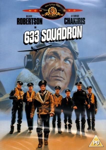 633 Squadron (new & sealed DVD / Cliff Robertson 1963)