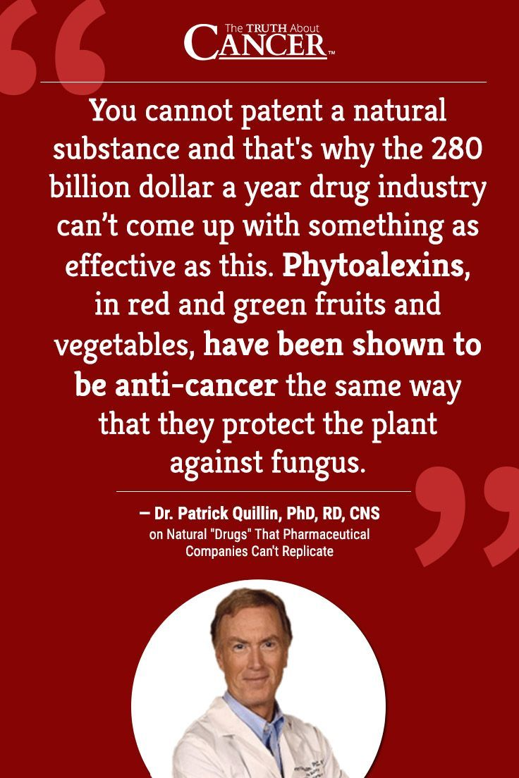 "NUTRITION or DRUGS? In this video, cancer researcher Ty Bollinger speaks with Dr. Patrick Quillin, author, lecturer, and nutritional expert. Dr. Quillin shares how and why nature provides substances that heal our bodies that pharmaceutical companies can never replicate and why it's better to ""eat"" your medicine. Click on the quote above to watch the video interview."
