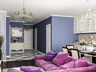 Квартира, стиль минимализм, Московском пр., 88 кв.м.
