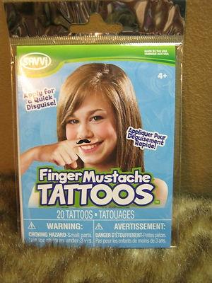 very cool mustache temp tattoo disguise kits! @coolstuff2cheap on ebay!