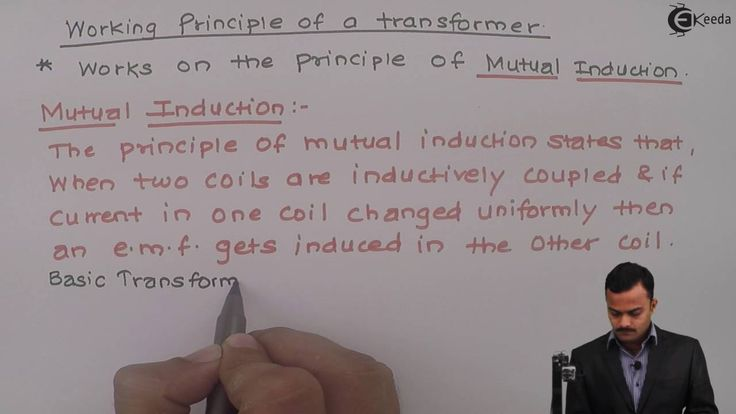 Learn Single Phase Transformer Online | Working Principle of transformer...