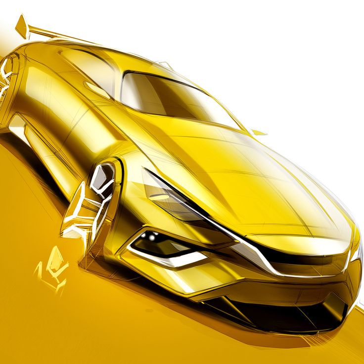 Car Drawing and Sketching Tutorial - How to Draw a Car on Behance