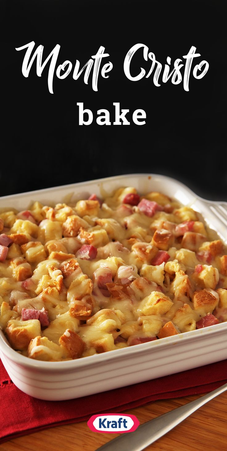 2436 best weeknight dinner ideas images on pinterest kraft recipes monte cristo bake discover this delectable casserole fit with all your favorite flavorsham forumfinder Image collections