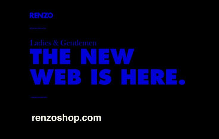 #WeHave #NewWeb  http://renzoshop.com/