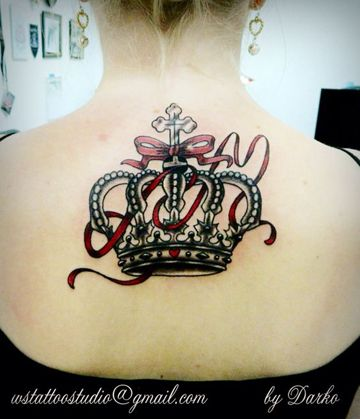 imagenes de coronas para tatuar reina