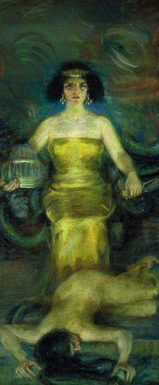 Babylon, Alice Pike Barney, 1904. Via hauk sven
