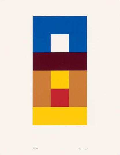"""Helmut Keppler: """"Quadrat im Quadrat"""" (2005) http://www.kunsthaus-artes.de/de/760448.00/Bild-Quadrat-im-Quadrat-2005/760448.00.html#cgid=t_geometrie&start=17"""