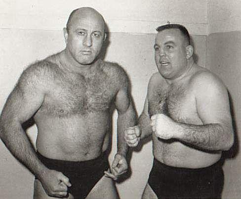 "Bob Geigel and ""Bulldog"" Bob Brown"