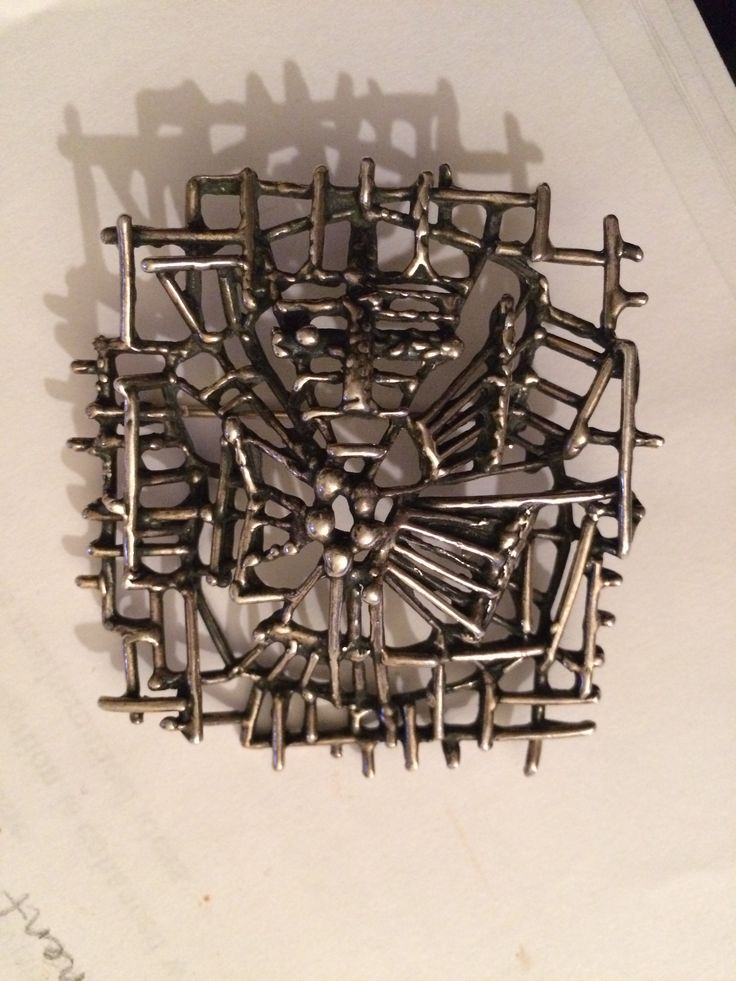 Sterling Silver Brooch/Pendant Marked 925S believed to be Danish Design