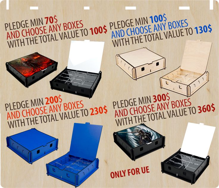 Last couple of days of our Kickstarter campaign! Please look at new pledges for the UE! https://www.kickstarter.com/projects/1576681940/new-line-of-e-raptor-storage-boxes