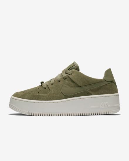 designer fashion d616d cdb6d Nike Air Force 1 Sage Low-sko til kvinder