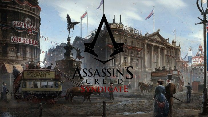 Download Assassins Creed Syndicate Logo London Art Wallpaper 3840x2160