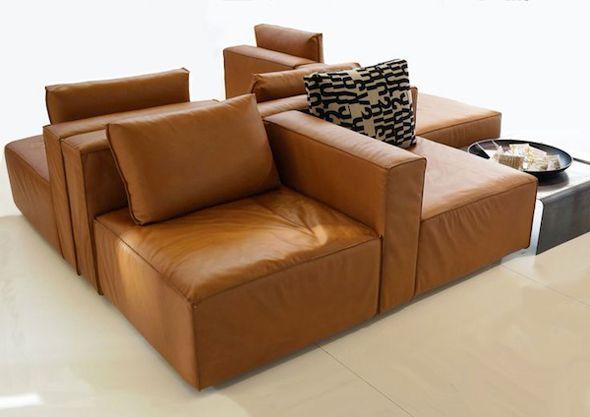 Flexibel zitten met een modulaire bank   Interieur design by nicole & fleur