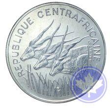 REPUBLIQUE CENTRAFRICAINE-1975-100 FRANCS ESSAI-FDC