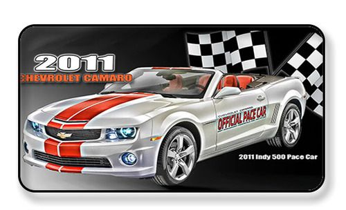 2011 Chevy Camaro Indy 500 Pace Car Magnet - PACKAGE OF 2