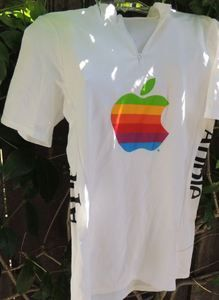 vintage apple cycling jersey