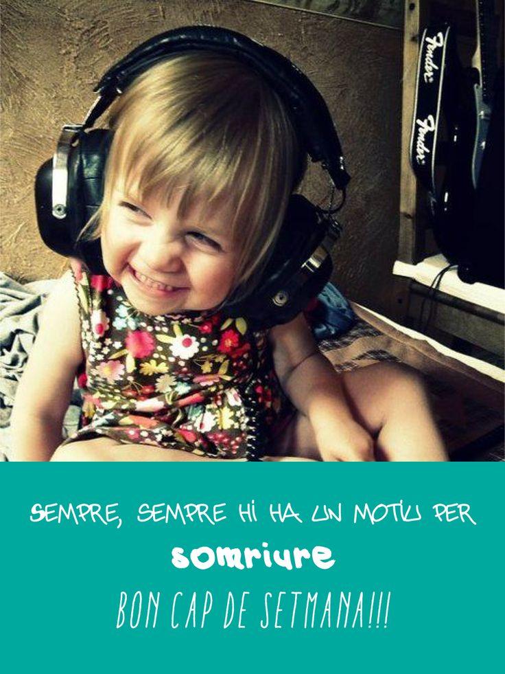 Bon cap de semana!!! somriure    http://bit.ly/1dMZ35C