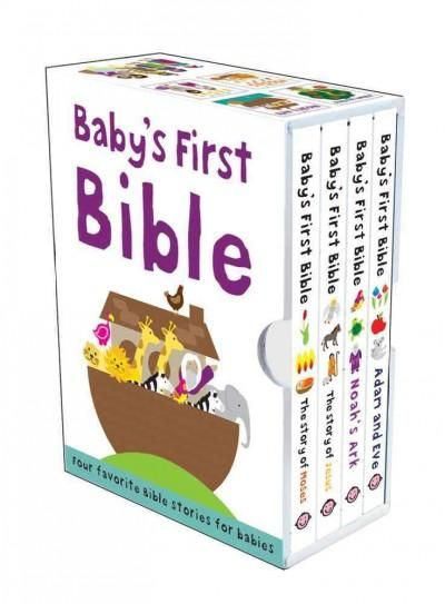 With simple language, and bright clear pictures, Babys First Bible series provides an ideal first introduction to the Bible, its stories and characters for infants and toddlers. This board book collec