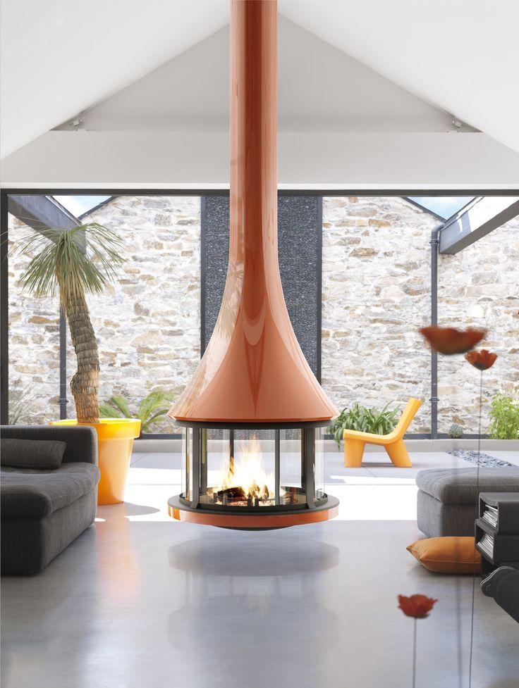 Fireplace Design fire orb fireplace : 140 best Kitchen Fireplace images on Pinterest