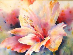 Uninhibited Hibiscus by Yvonne Joyner