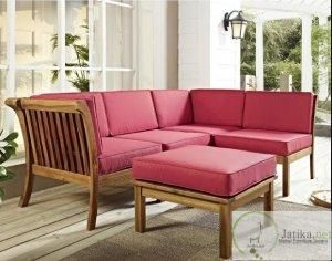 Kursi Sofa Sudut Minimalis Busa Tebal