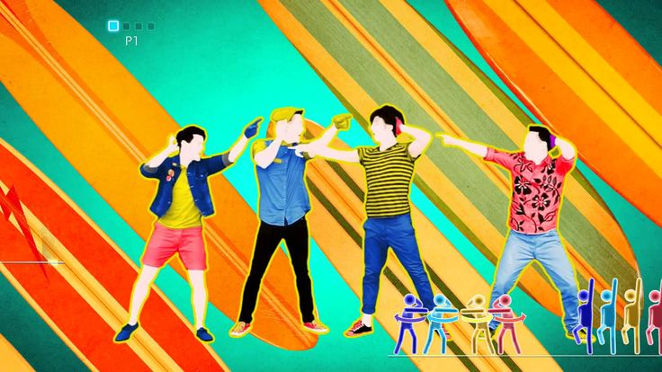 Kiss You - One Direction - Just Dance 2014 (Wii U) (+playlist)