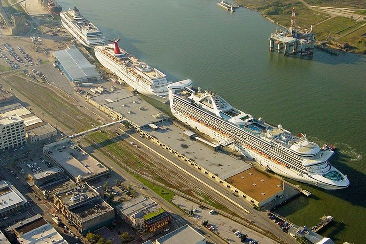 Galveston cruise port photo