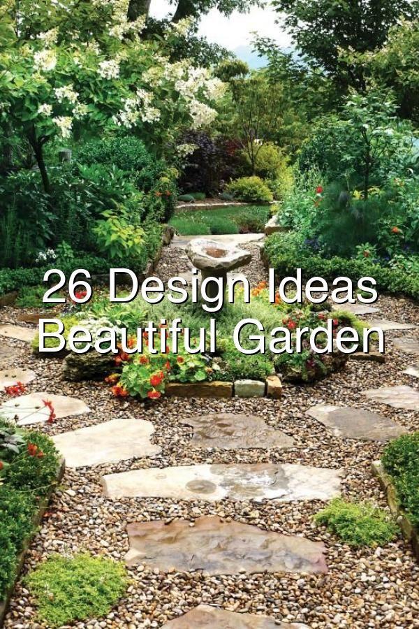 26 Design Ideas For Beautiful Garden Paths In 2020 Garden Pathway Beautiful Gardens Backyard Landscaping