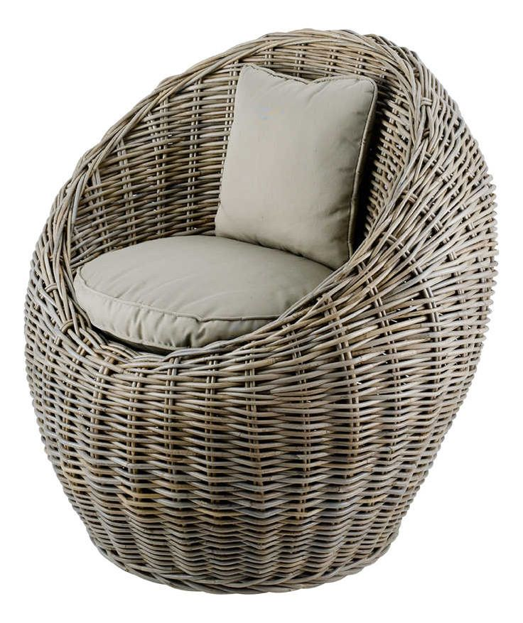 fauteuil crapaud rayures grises joliette sur fils design et salons. Black Bedroom Furniture Sets. Home Design Ideas