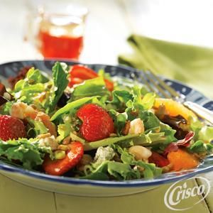 Strawberry Spring Salad from Crisco®
