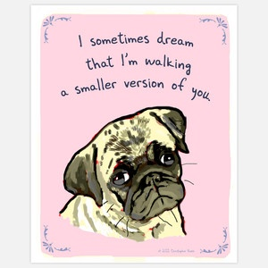 Dreaming Pug