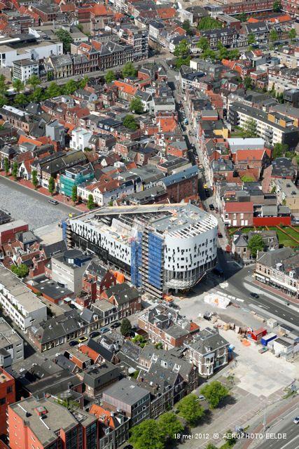 Damsterdiep, Groningen. The Netherlands.