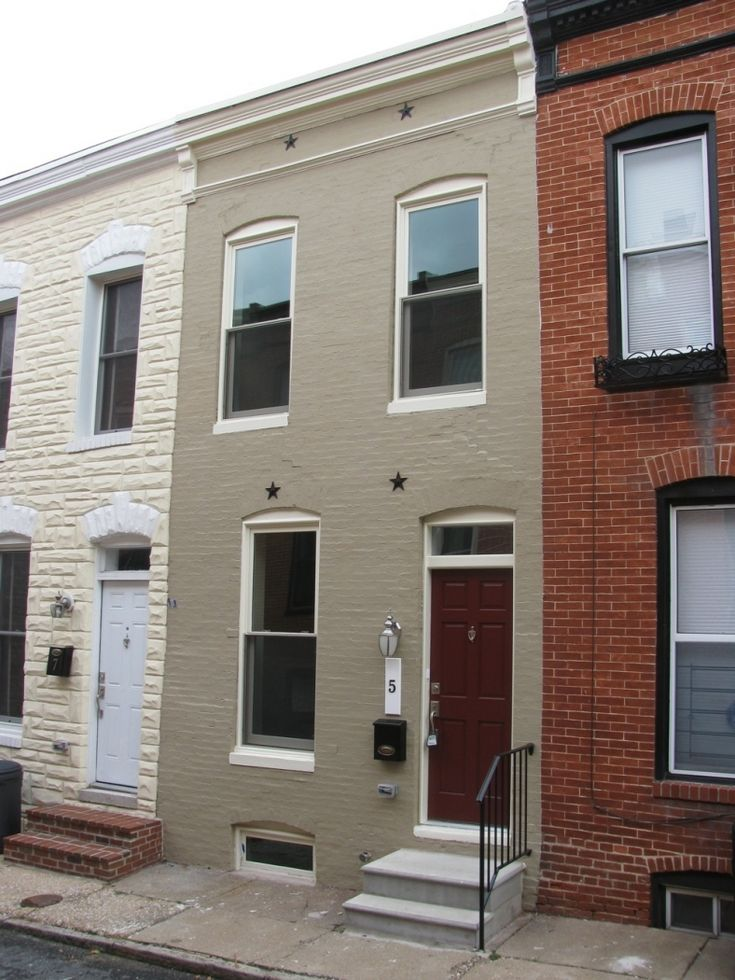 Affordable Green Row Houses Renovated In Baltimore City