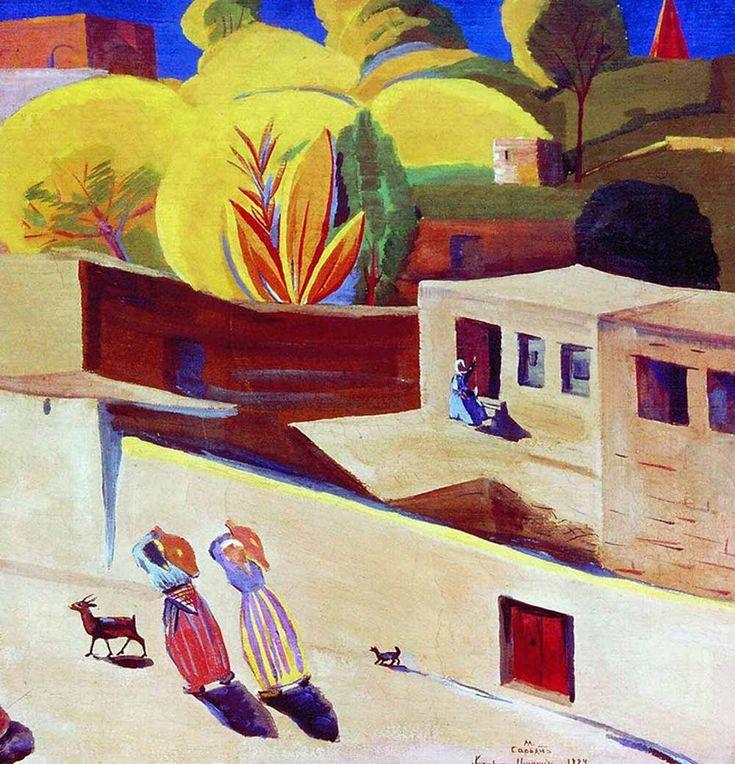Martiros Saryan (1880—1972). Soviet artist