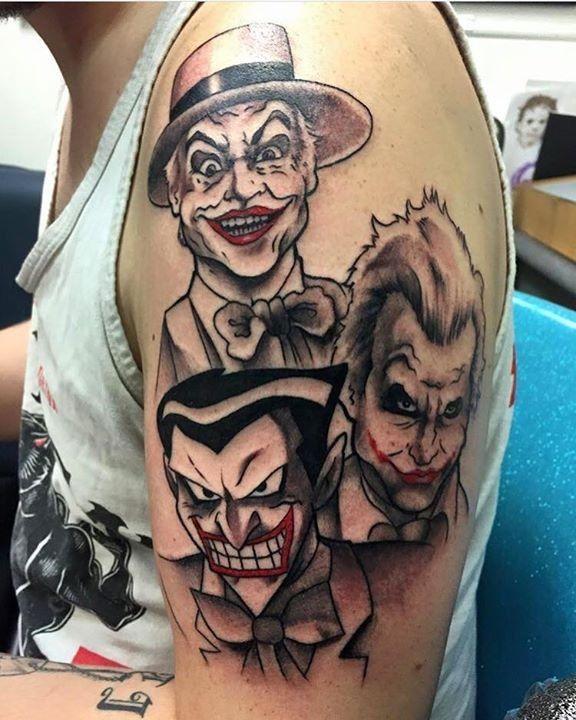 Pin On Joker Tattoo Images