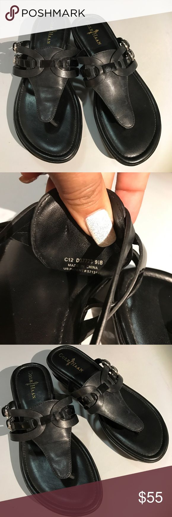 Cold Haan Sandals Nike Air Cole Haan Black Sandal Nike Air Soles Size 9.5   No Box No Trades Good Condition. Cole Haan Shoes Sandals