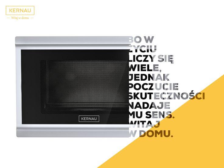 Witaj w domu, gdzie czekają na Ciebie sprawdzone urządzenia AGD. Jednym z nich jest kuchenka mikrofalowa, która uratuje Cię w kryzysowych, zabieganych sytuacjach: http://bit.ly/Kernau_KFMO_231_EG_S