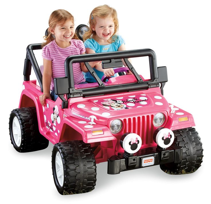 Fisher-Price Power Wheels Disney Minnie Mouse Jeep 12-Volt Battery-Powered Ride-On Deal